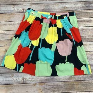 Anthropologie Fei tulip skirt